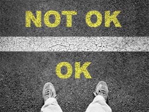 Warum es ok ist, nicht ok zu sein.